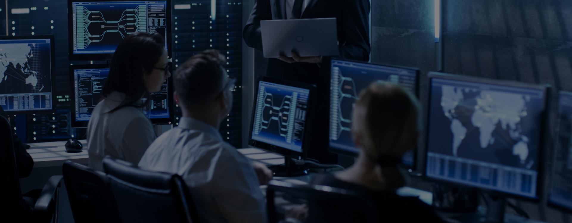 Prescient data centre control room