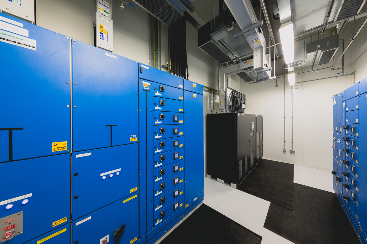 Prescient Data Centre Data Hall 1 UPS A 25