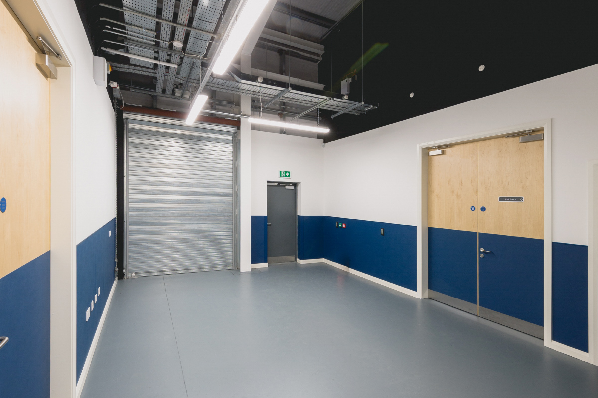 Prescient Data Centre Loading Bay Secure store