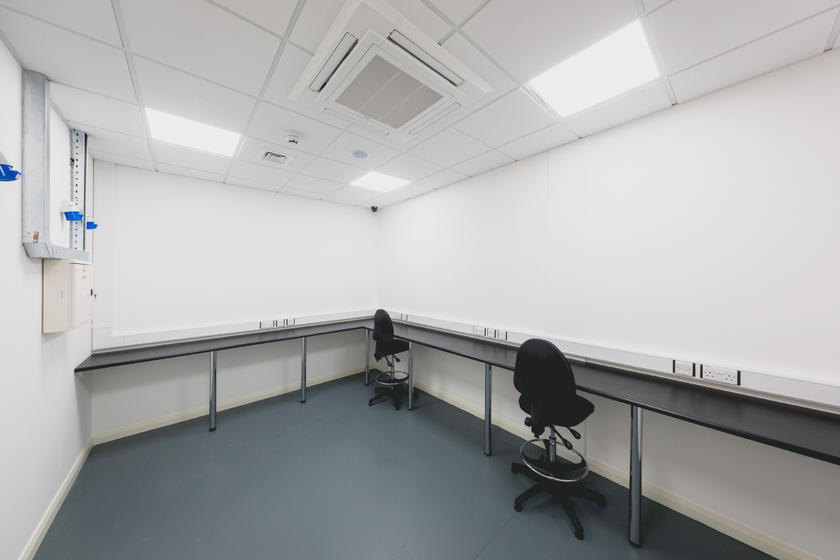 Prescient Data Centre Staging Room